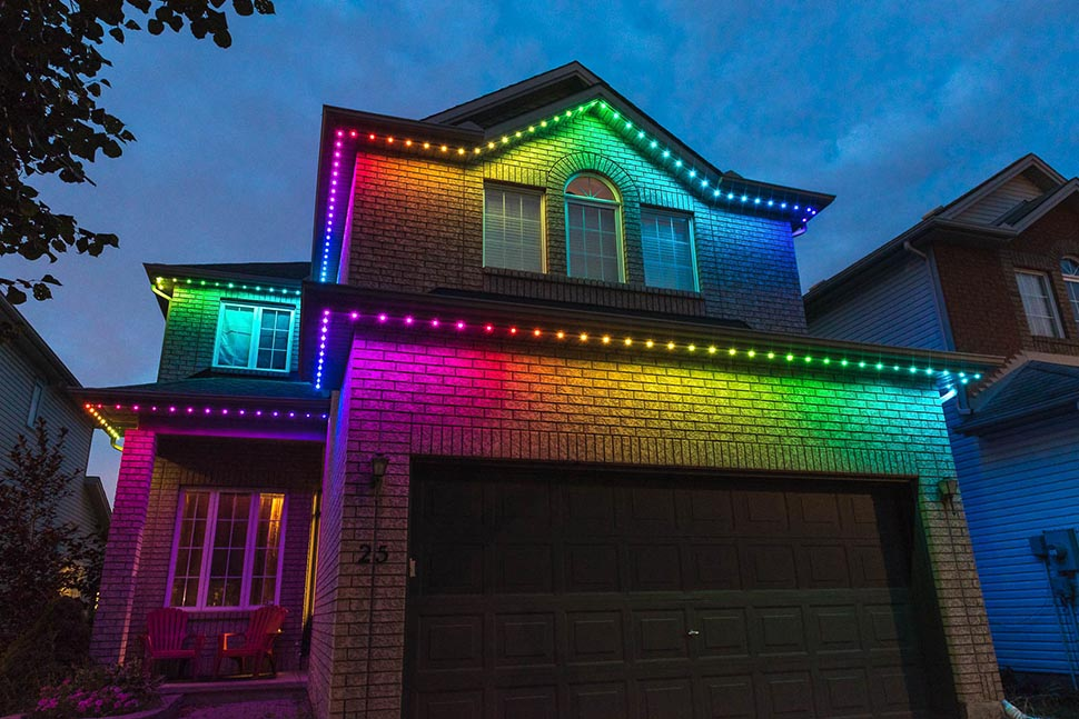 multi colour celebright lights