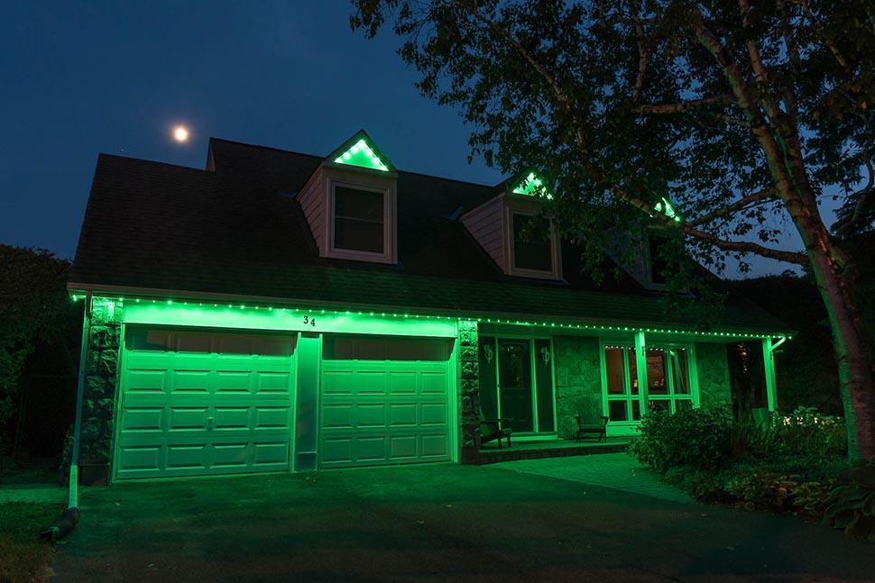 Rider Green Celebright Lights